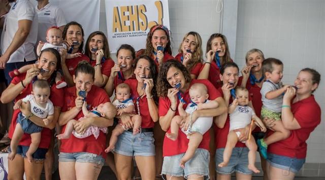 """Medalla de bronce Europeo para la """"selección de las bebés"""""""