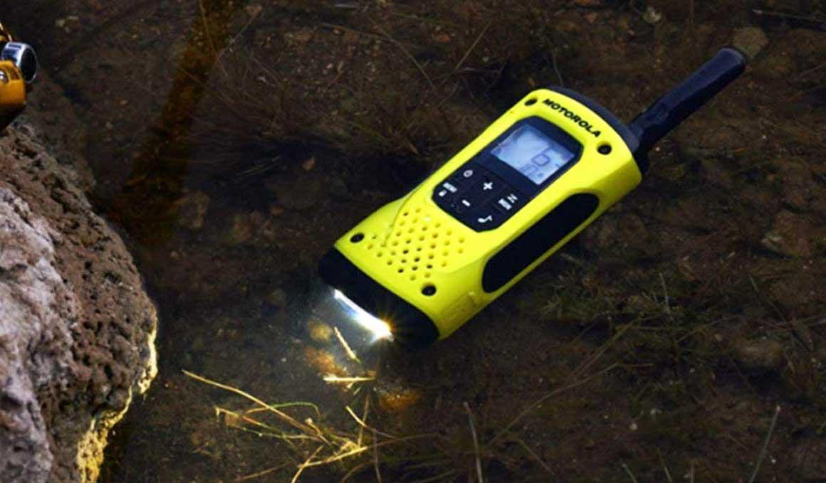 Los walkie-talkies que flotan