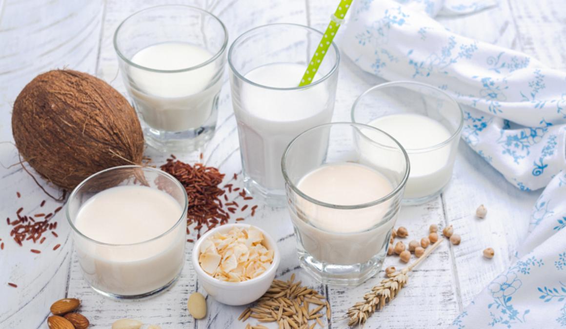 Leches vegetales, una alternativa a la leche