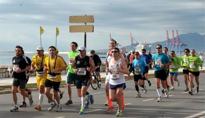 Un objetivo para la vuelta del verano: media o maratón en Málaga