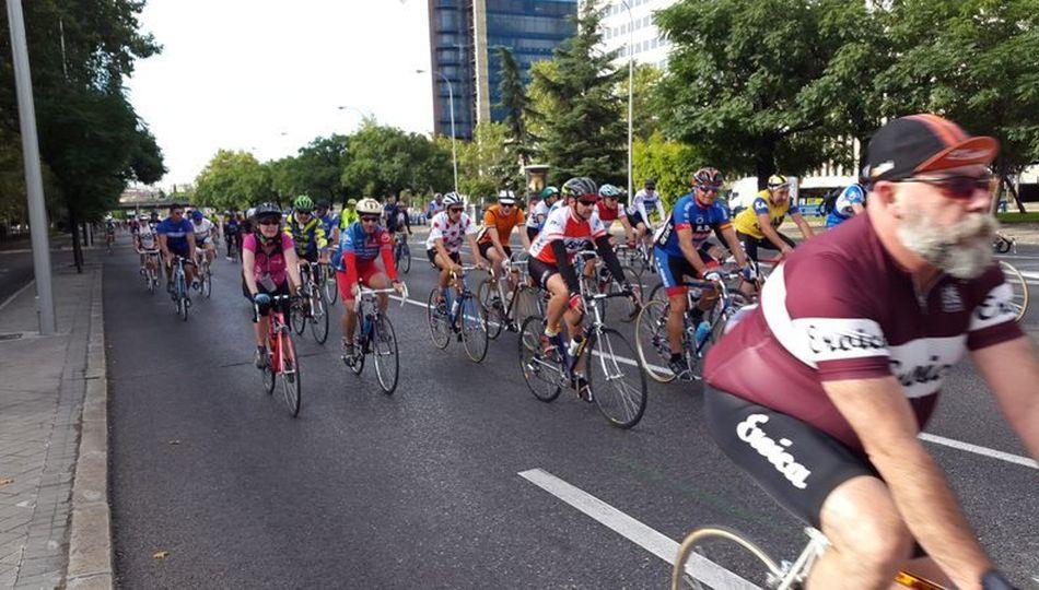 La marcha de las bicis clásicas en Madrid