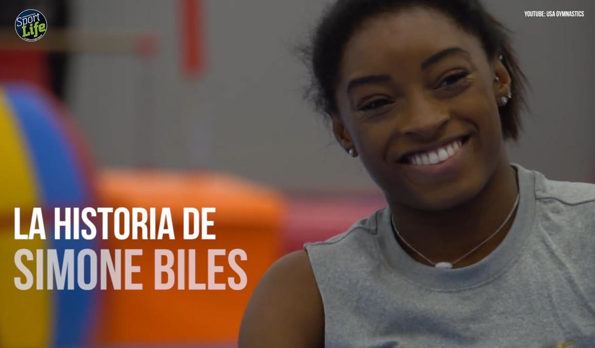 Simone Biles: la historia de superación detrás de la gran gimnasta