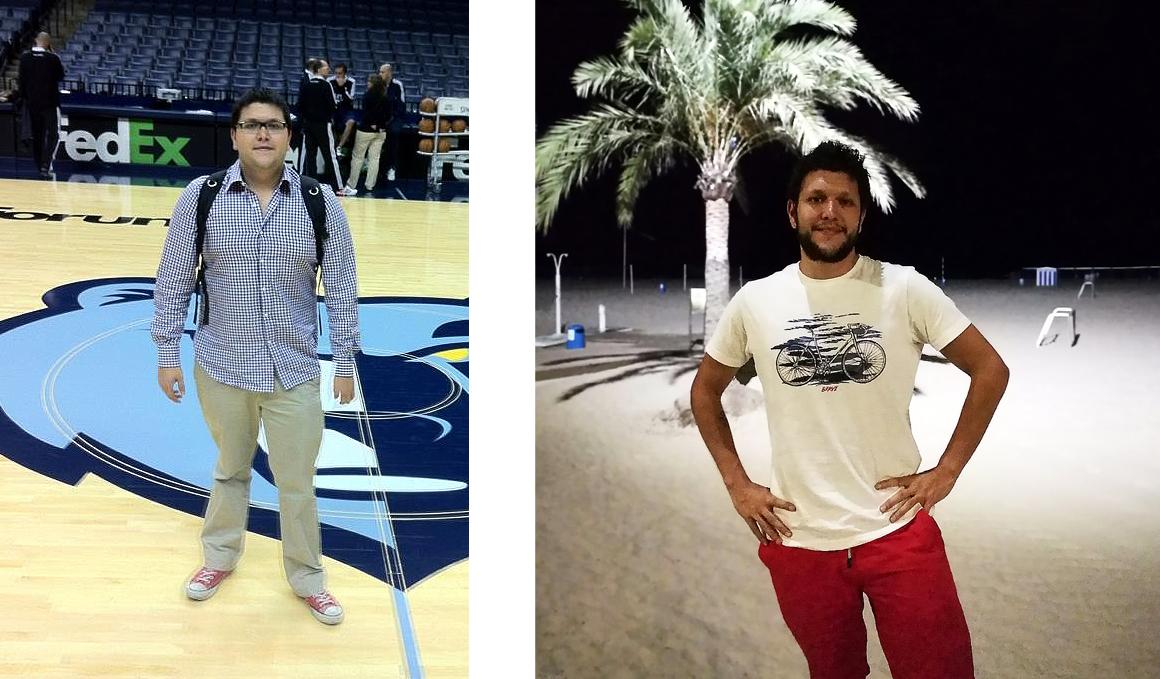 Club pérdida de peso, Daniel Senovilla de 128 kg a 75 en 4 años