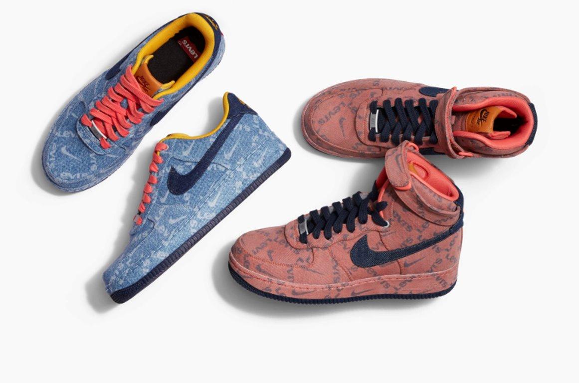 Así son las primeras zapatillas creadas por Nike y Levi´s