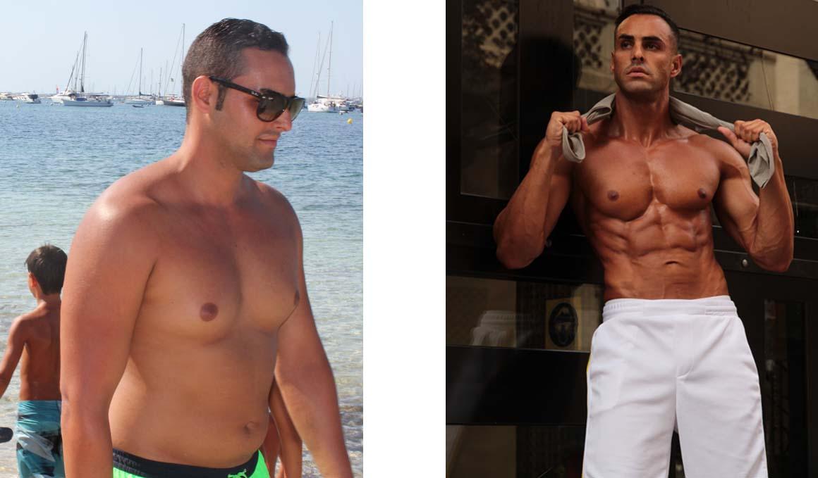 Club pérdida de peso, Oriol Rodríguez Mendoza, de 94 a 77 kg en un año