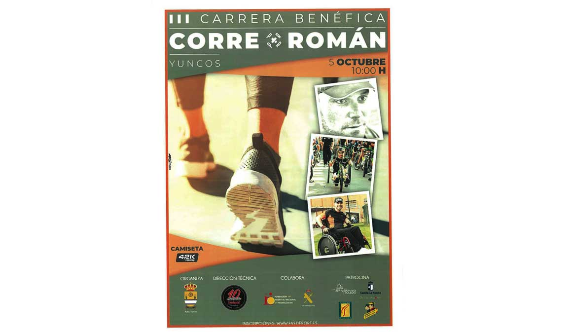 Corre por Román