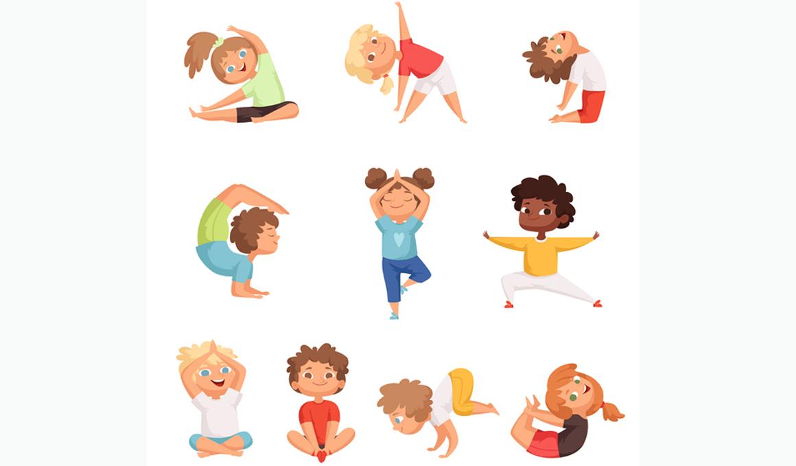 Yoga en casa con niños