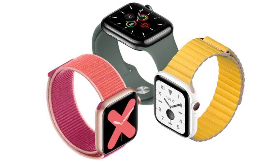 Así es el nuevo Apple Watch 5