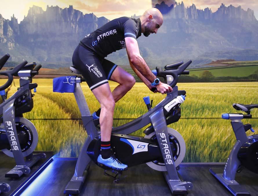 Entrena ciclo indoor como los profesionales