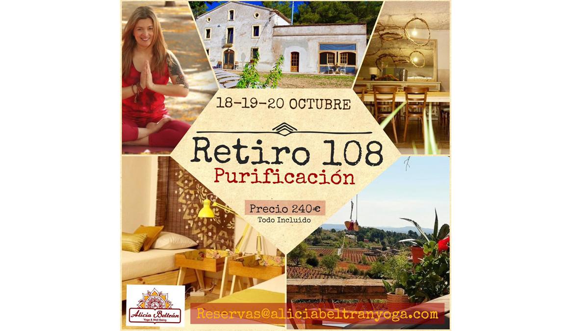 Retiro 108 Purificación con Alicia Beltrán