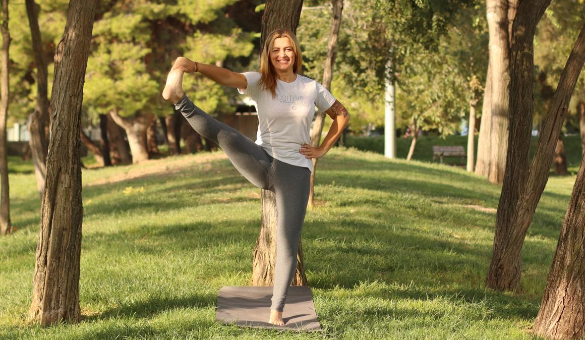 Una postura de yoga para corredores: Utthita Hasta Padangusthasana