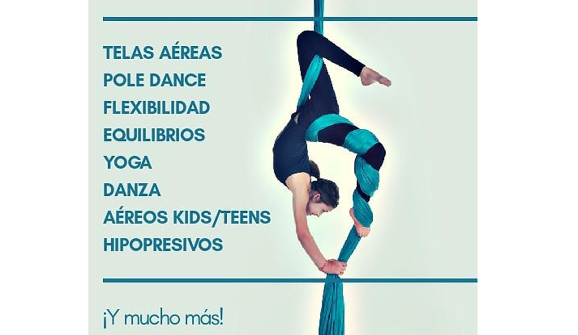 Allegra Danza Aérea en Madrid