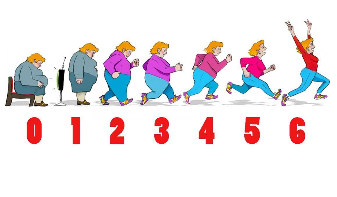 Pierde peso en 6 semanas