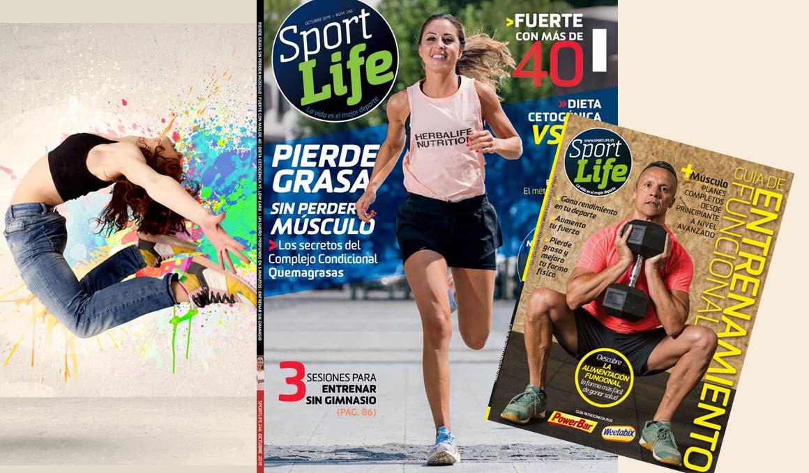 La revista Sport Life de octubre, ¡ya en quiosco!