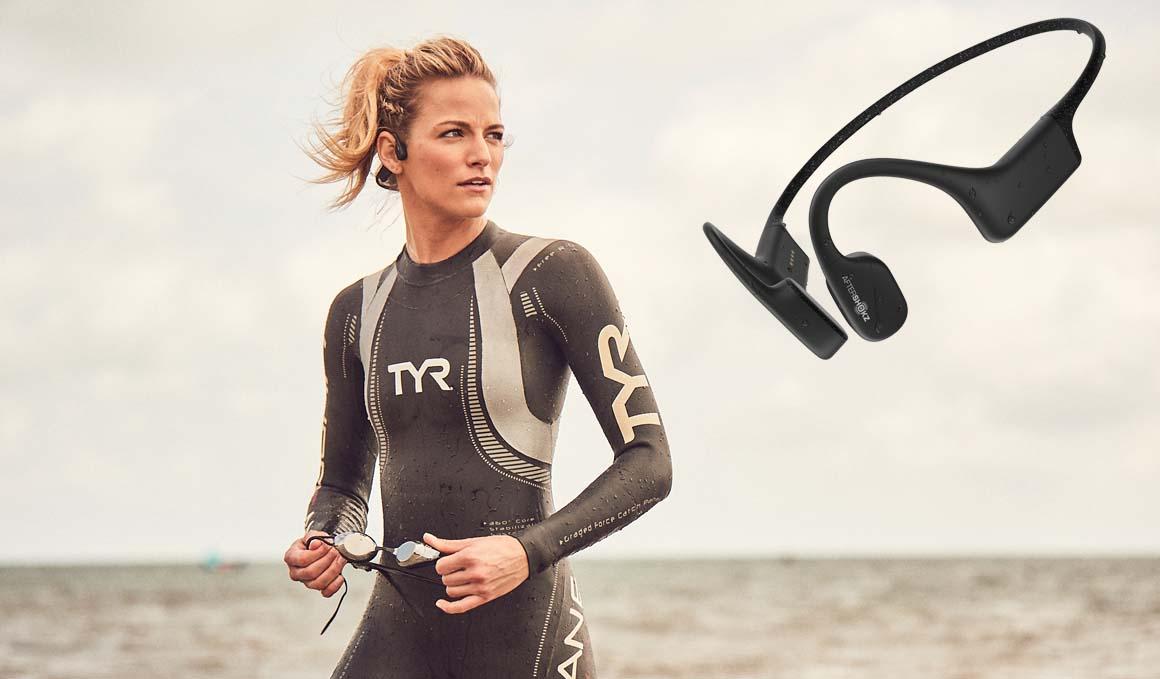 Sorteamos unos auriculares para natación XtrainerZ de AfterShokz