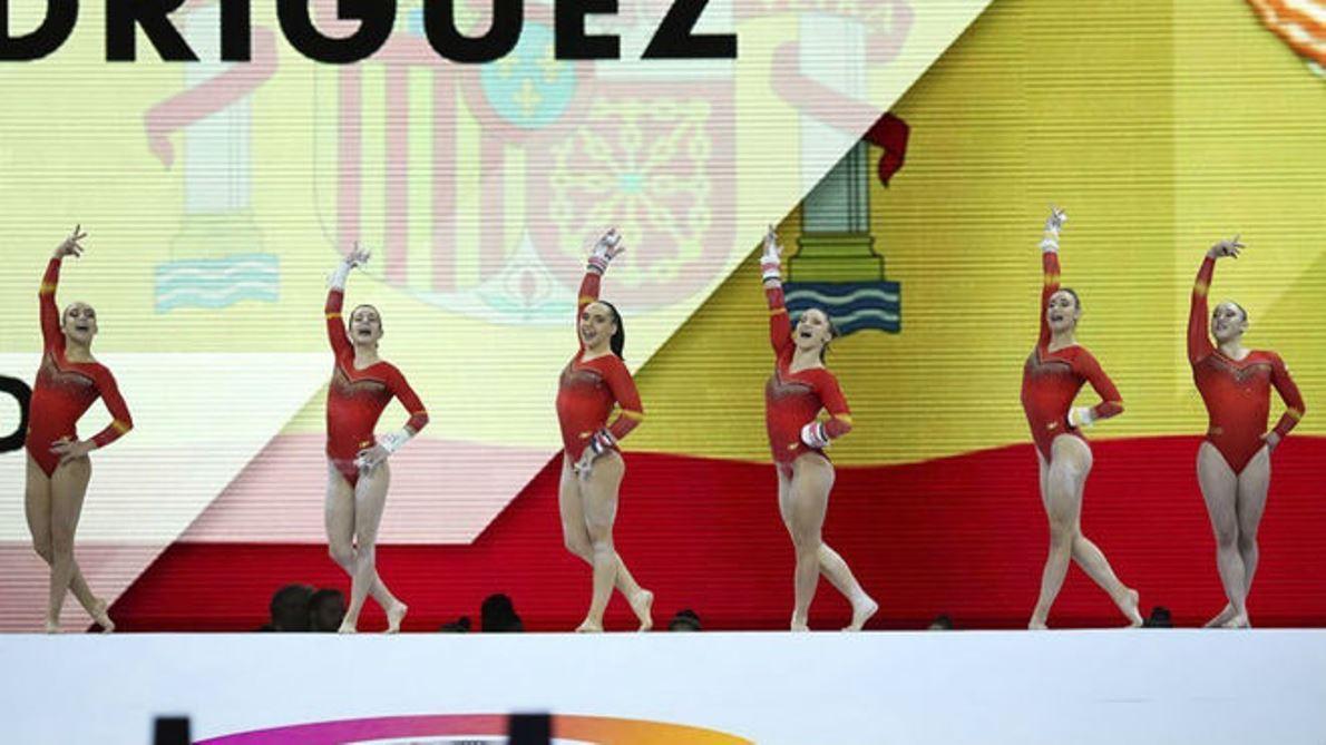 El equipo de gimnasia artística femenino logra su plaza para Tokio 2020