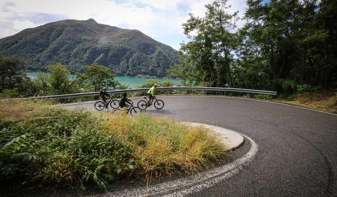 Ciclismo con alma de lago