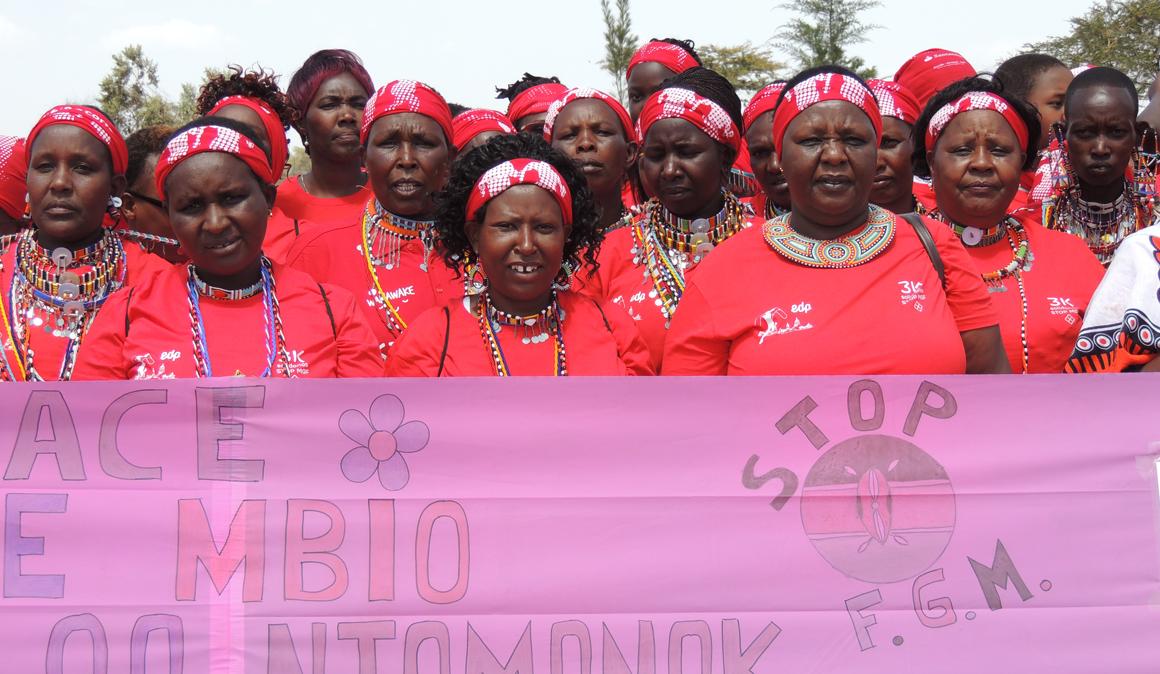 La Carrera de la Mujer en Kenia contra la Mutilación Genital Femenina