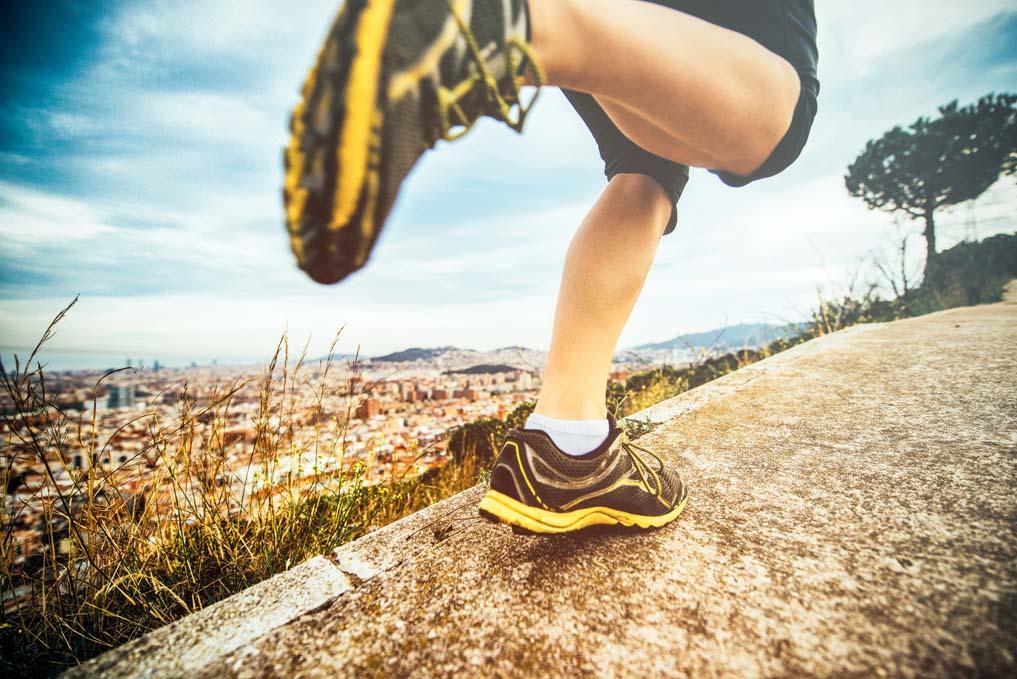 Cuida tus tobillos para ser mejor corredor