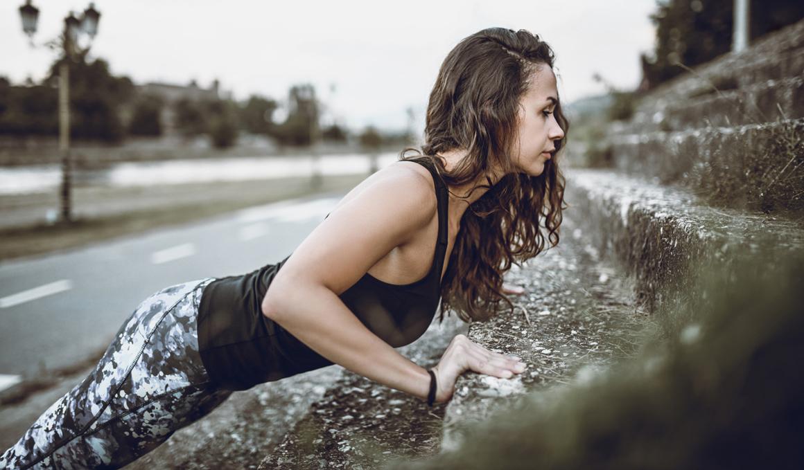 Fuerza sin gimnasio para corredores