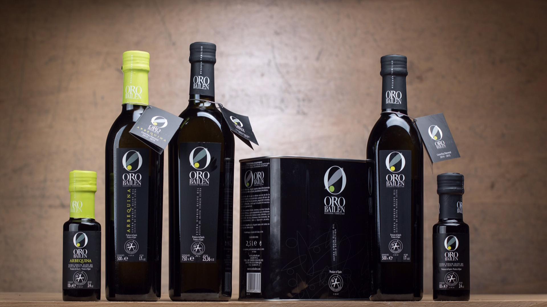 """""""Oro de Bailén"""",  campeón del mundo de aceite de oliva"""