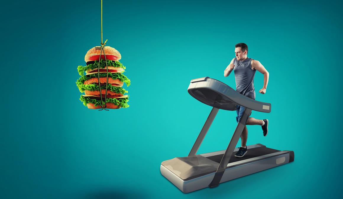 Comer sólo 2 comidas al día puede animarte a hacer más deporte