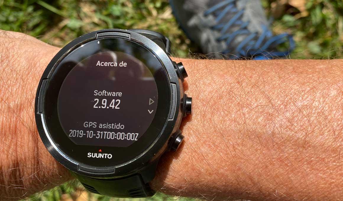 Más precisión GPS para los Suunto