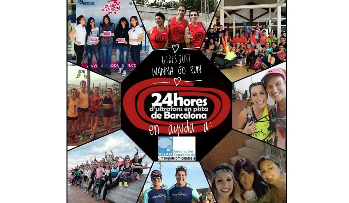 #GirlsJustWannaGoRun, Sara Carmona nos propone un reto solidario 24 h en una pista de atletismo