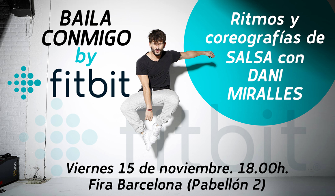 ¡Apúntate a la clase Baila Conmigo by Fitbit de Dani Miralles en Barcelona!