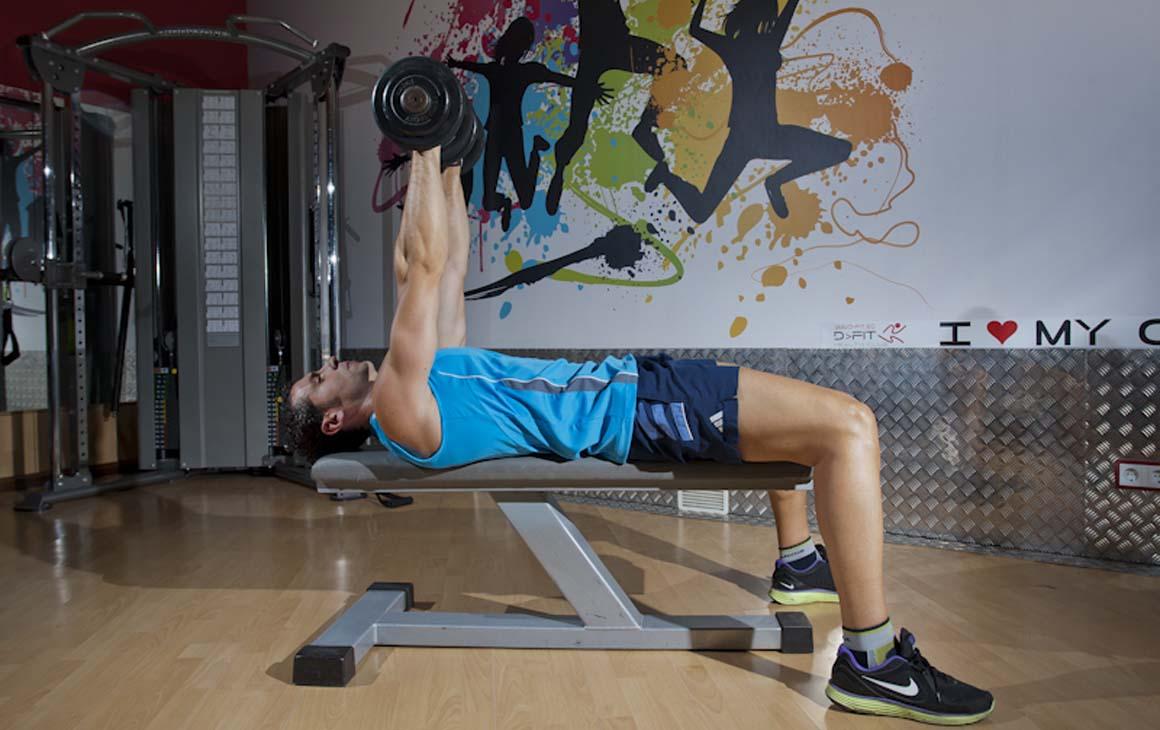 El entrenamiento para conseguir la definicion muscular