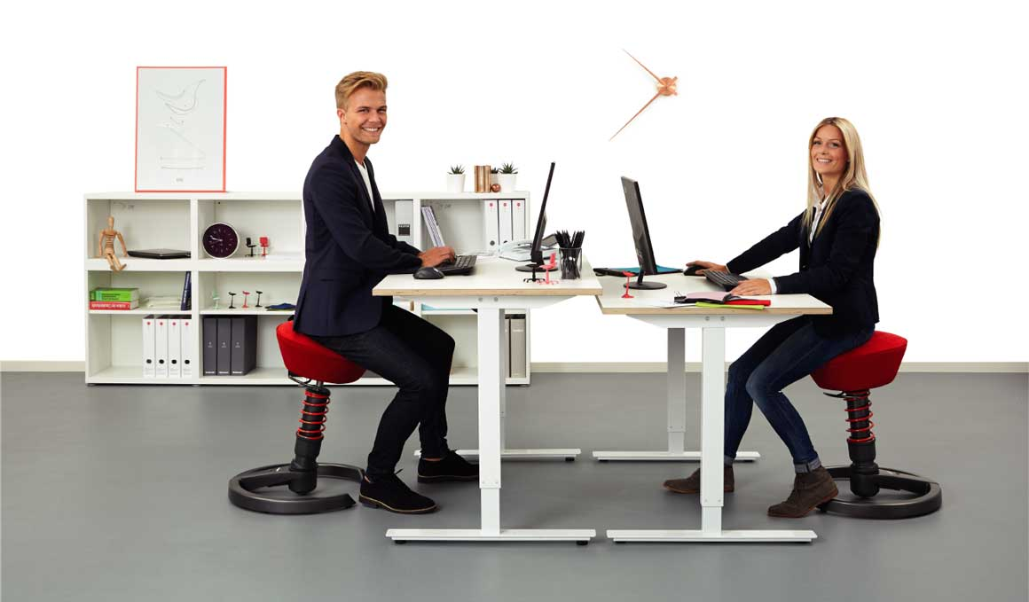 La primera silla activa 3D que cuida tu espalda