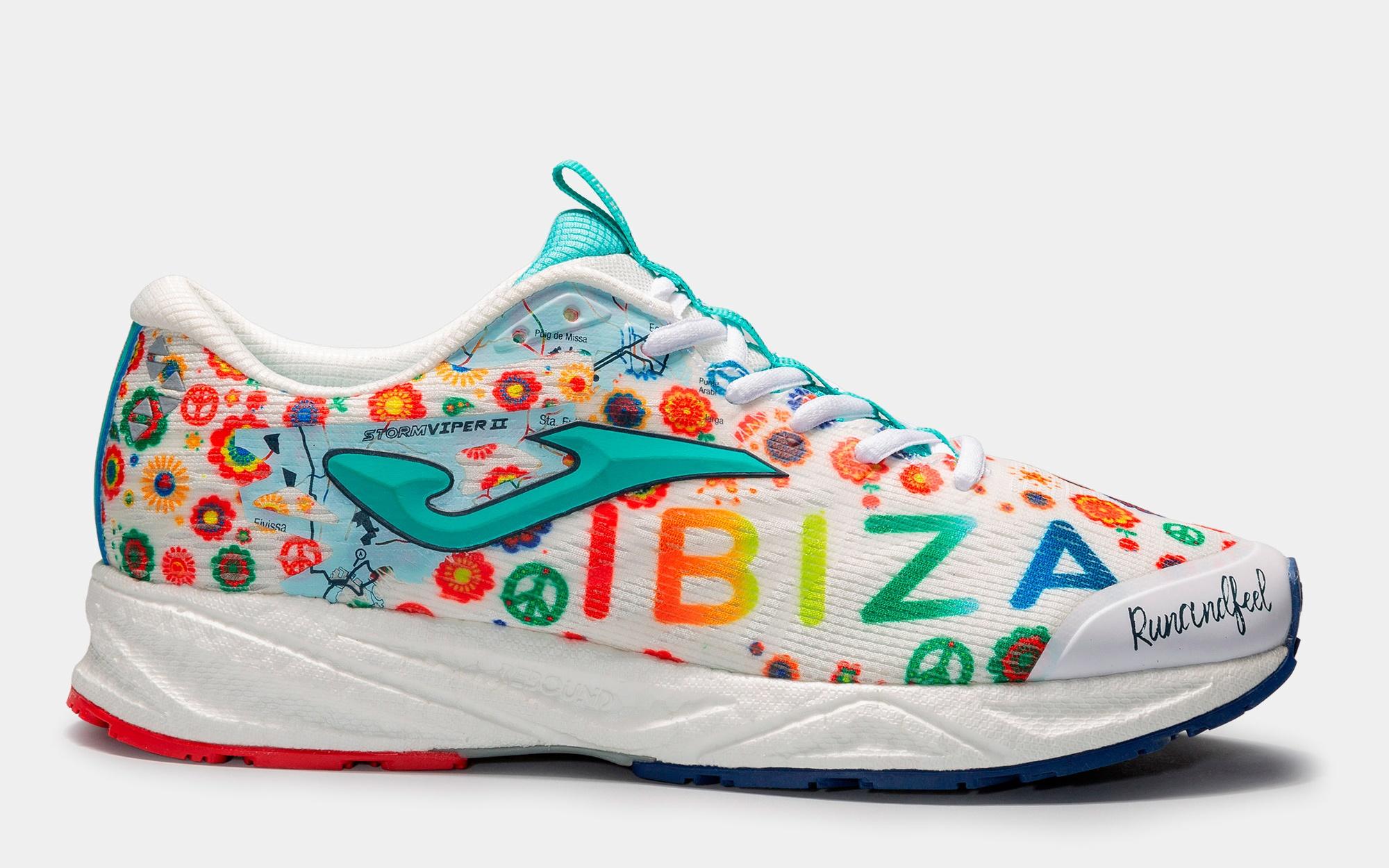 La zapatilla exclusiva del Maratón de Ibiza