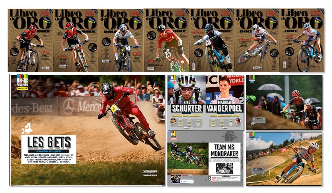 Publicado 'El Libro de Oro', especial para amantes del mountain bike de competición