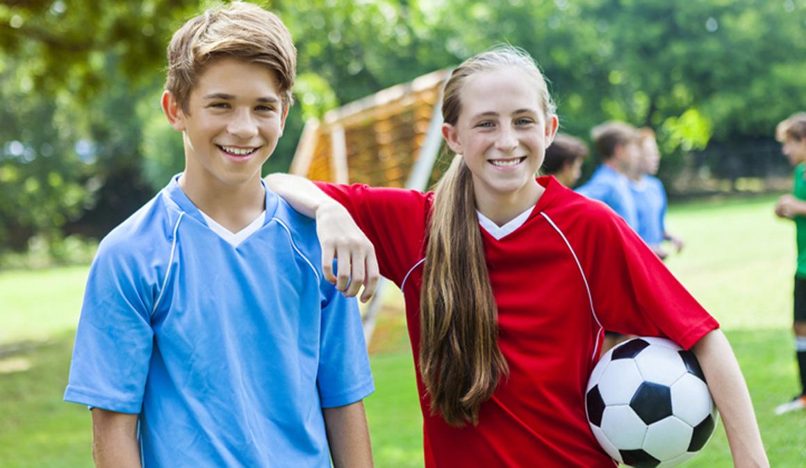 A los niños y a las niñas les motivan razones muy parecidas a la hora de hacer deporte en equipo