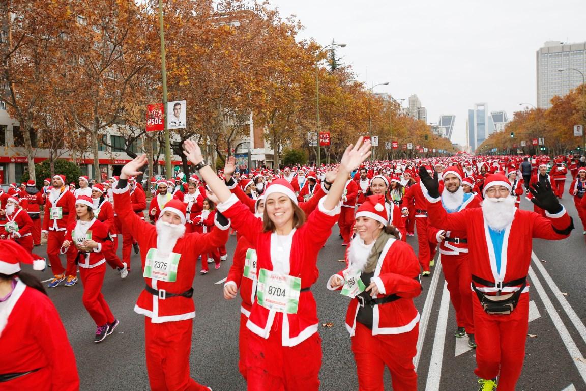 ¡Consigue tu plaza para la Carrera de Papa Noel!
