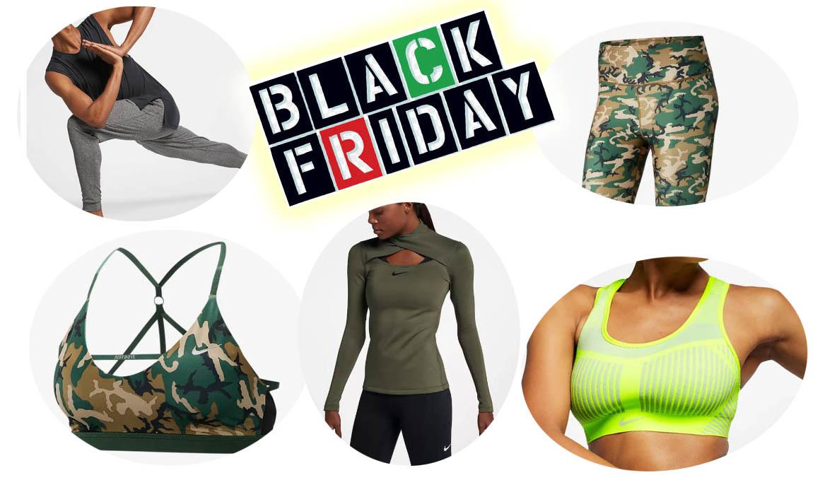 Equípate con Nike para el yoga en el Black Friday