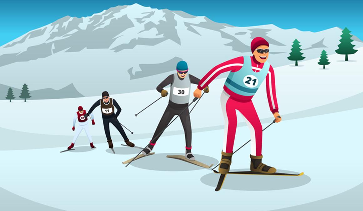 El esquí de fondo disminuye el riesgo de depresión y demencia