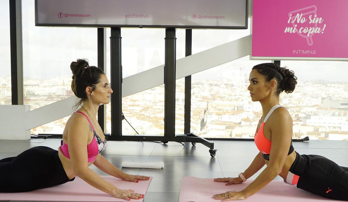 Posturas de yoga para aliviar la menstruación con Maite Aguirre (@soy_Yogi)