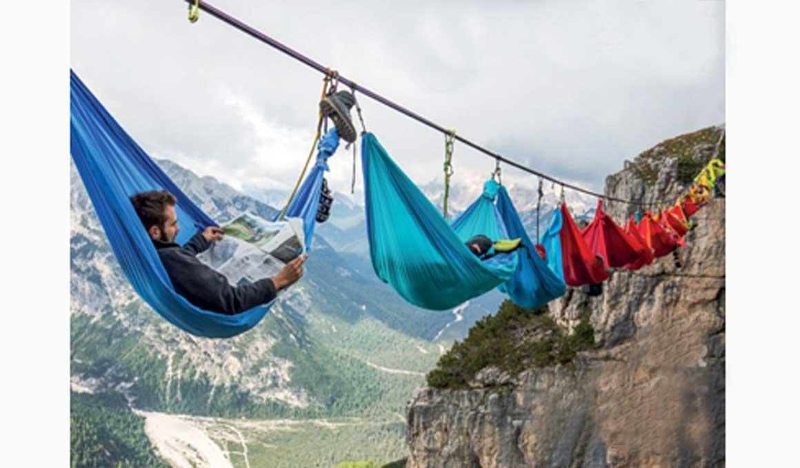 Hamacas para viajeros que disfrutan balanceándose seguros por el mundo