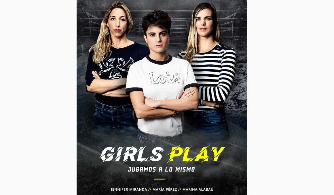 Girl's Play, Jugamos a lo Mismo, campaña para apoyar al deporte femenino