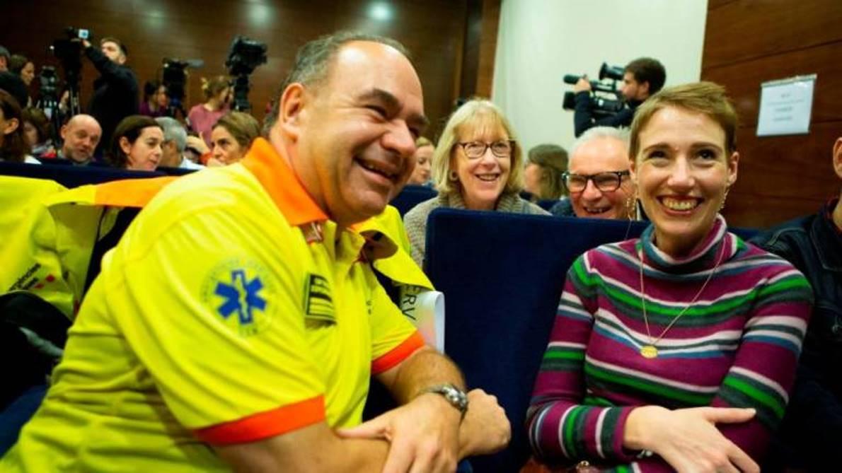 Un milagro en el Pirineo:  una montañera sobrevive tras seis horas en parada cardíaca