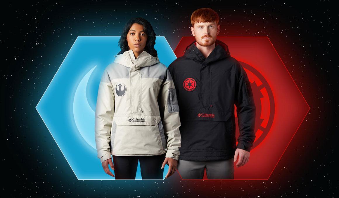 Las chaquetas Columbia para fans de Star Wars