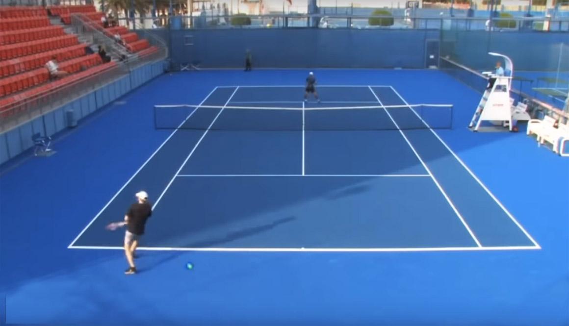 ¿Puede haber un jugador profesional peor en la historia del tenis?