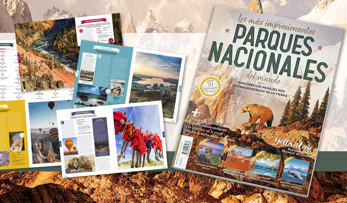 Descubre los Parques Nacionales más espectaculares del mundo