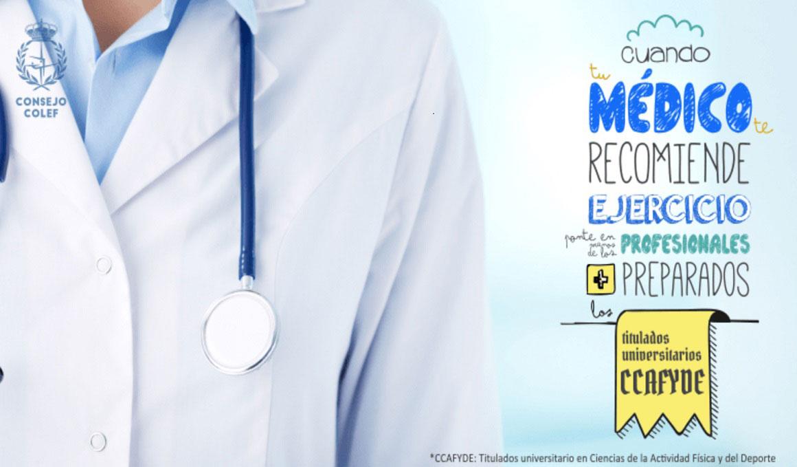 Sanidad reconoce las competencias en salud de los titulados universitarios en Ciencias de la Actividad Física y el Deporte