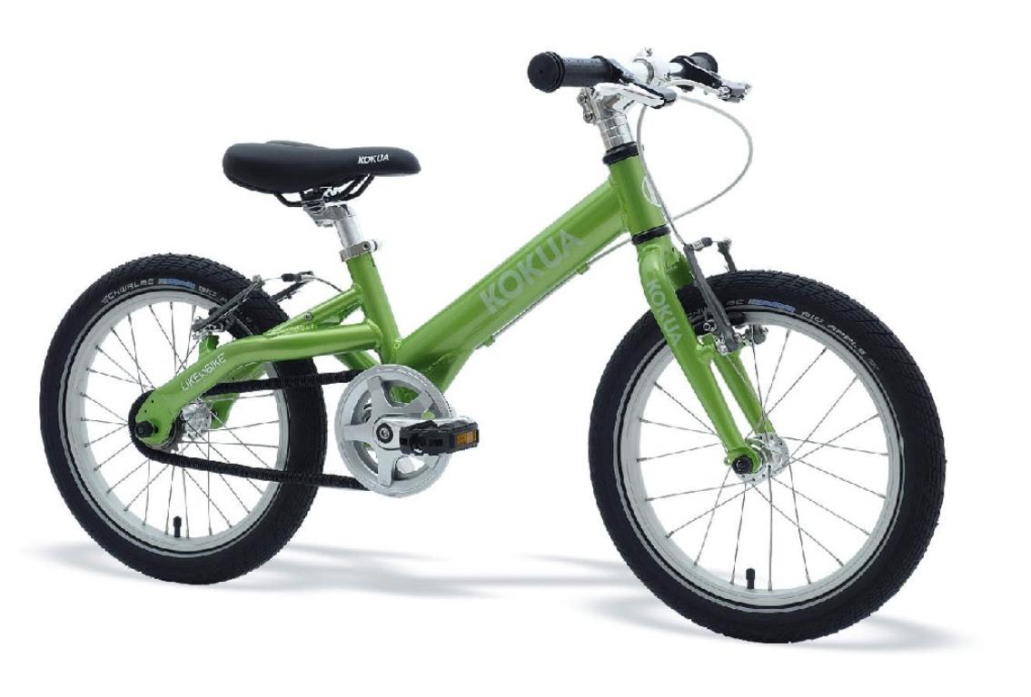 La bici de niño con cambio automático