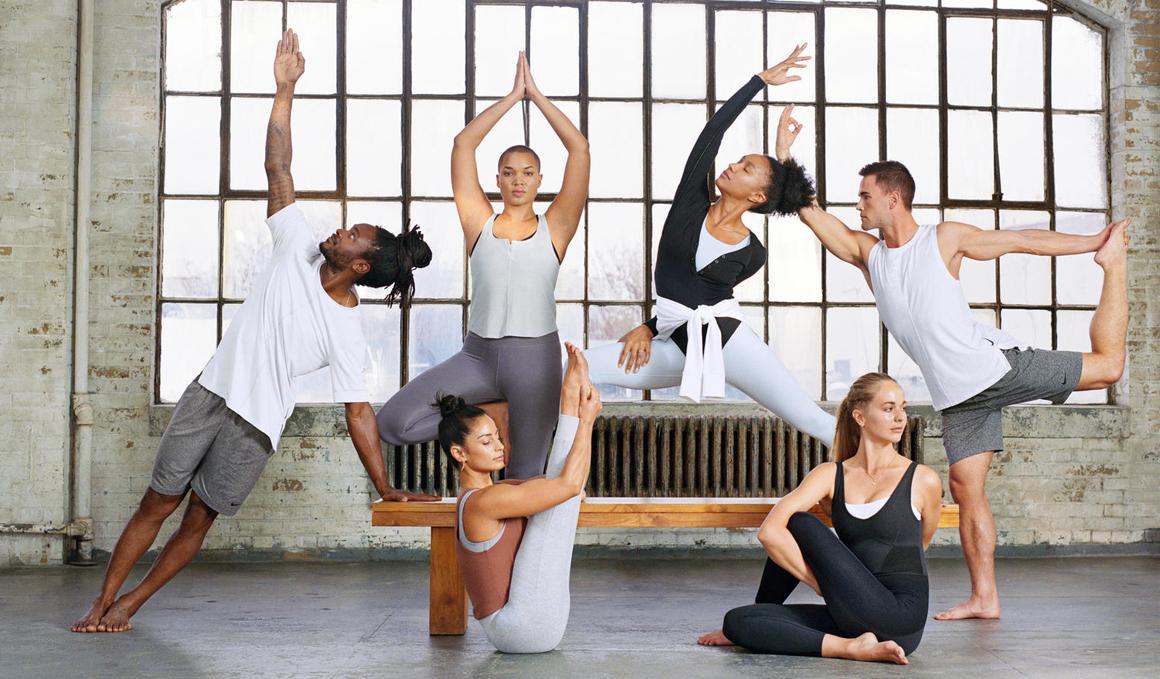 Nueva colección de Yoga Nike Infinalon