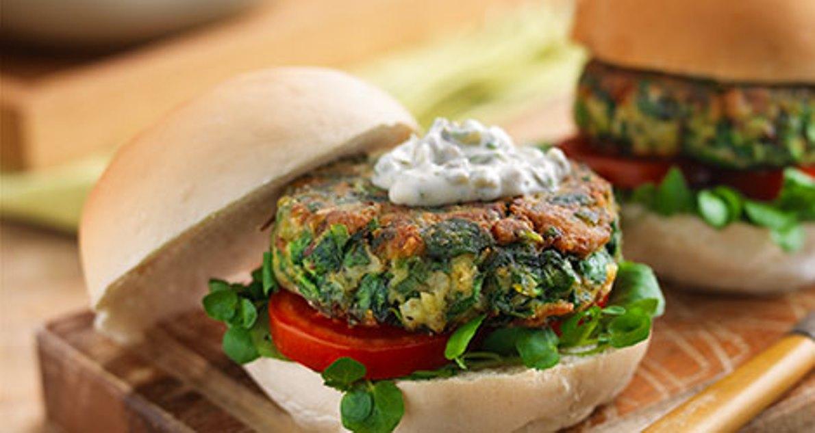 Los ingredientes de la hamburguesa más sana del mundo