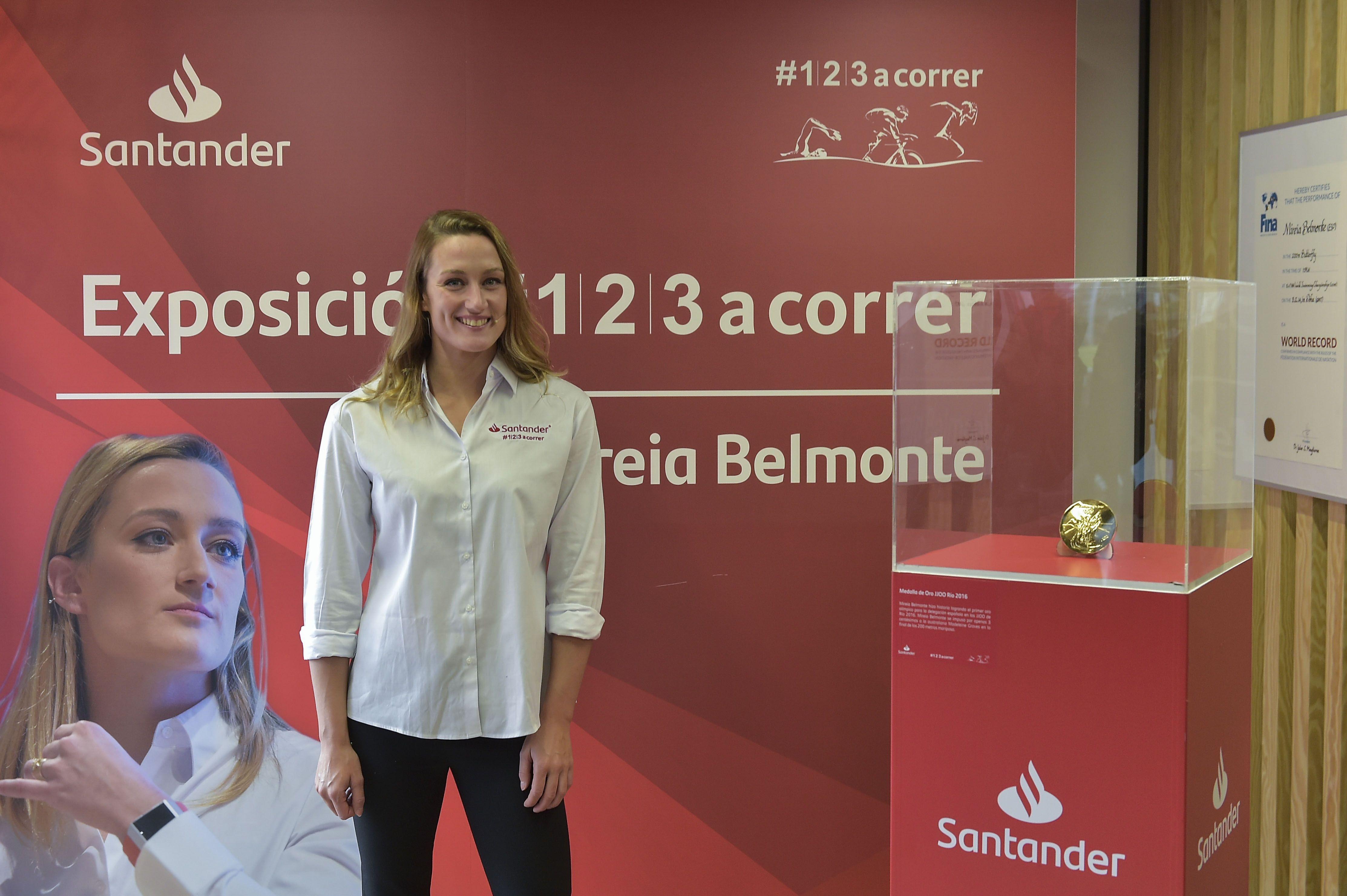 """Mireia Belmonte: """"Gané el Mundial nadando con fiebre"""""""