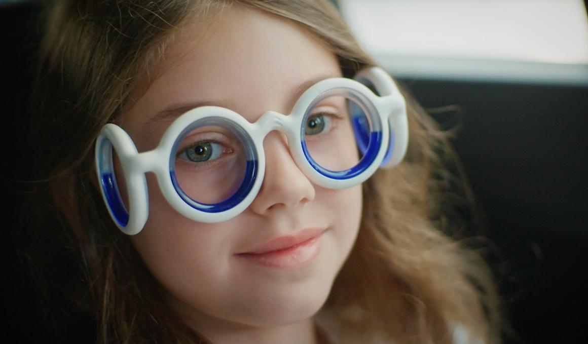 Las gafas que impiden que te marees